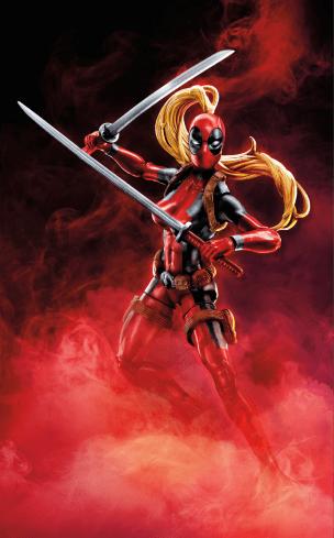 MARVEL DEADPOOL LEGENDS SERIES 6-INCH Figure Assortment (Lady Deadpool) - Wave 2
