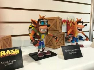 Toy Fair 2018: NECA Valve and Crash Bandicoot