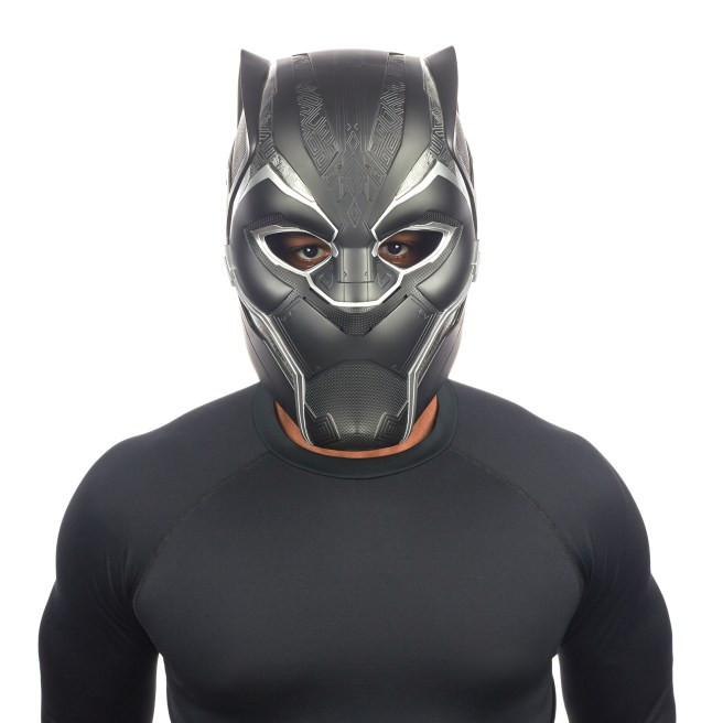 MARVEL LEGENDS SERIES BLACK PANTHER HELMET (1)