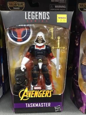 Hasbro Marvel Legends Infinty War Thanos BAF Taskmaster