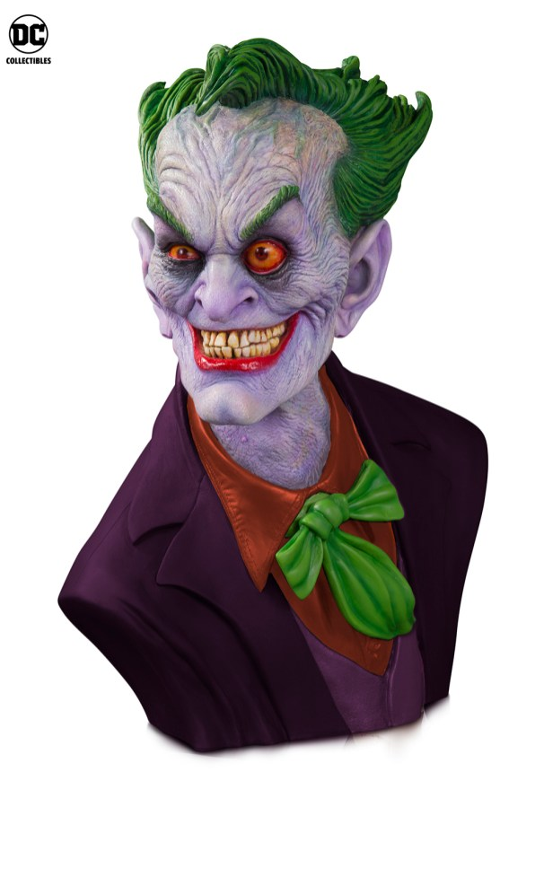 DC Collectibles: New Ultimate Edition of The Joker Bust by Rick Baker