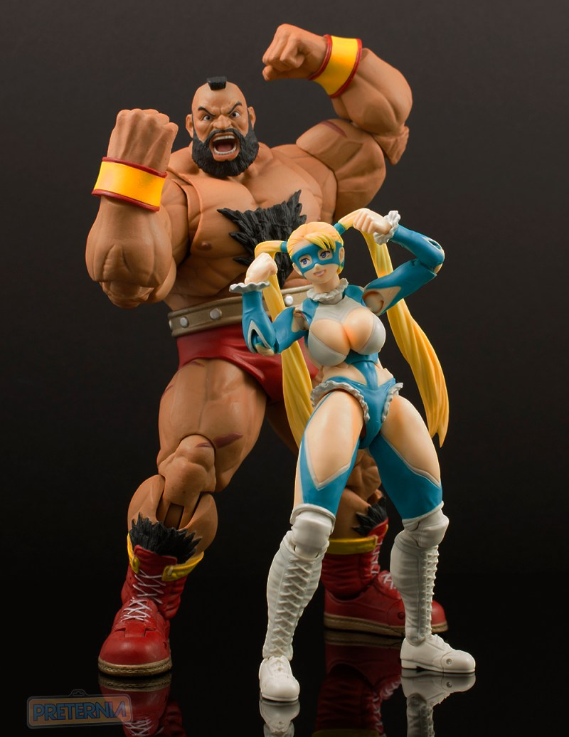 Bandai S.H. Figuarts Street Fighter V Rainbow Mika Review