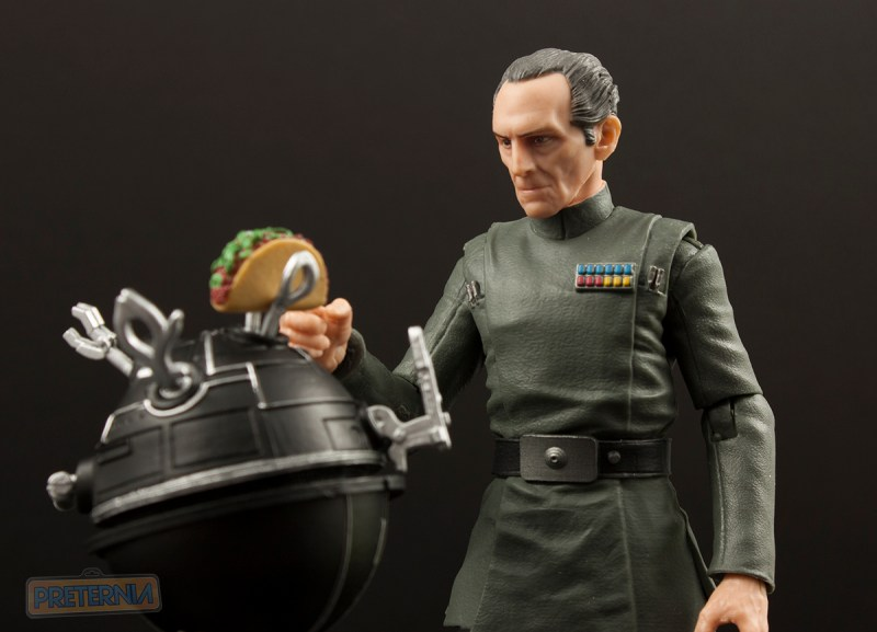 Hasbro Star Wars Black Six-Inch #63 Grand Moff Tarkin Review