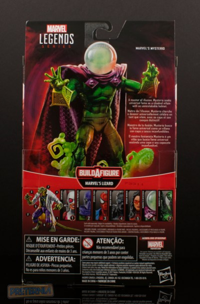 Mysterio - Spider-Man: Lizard Build-A-Figure Wave January 2018