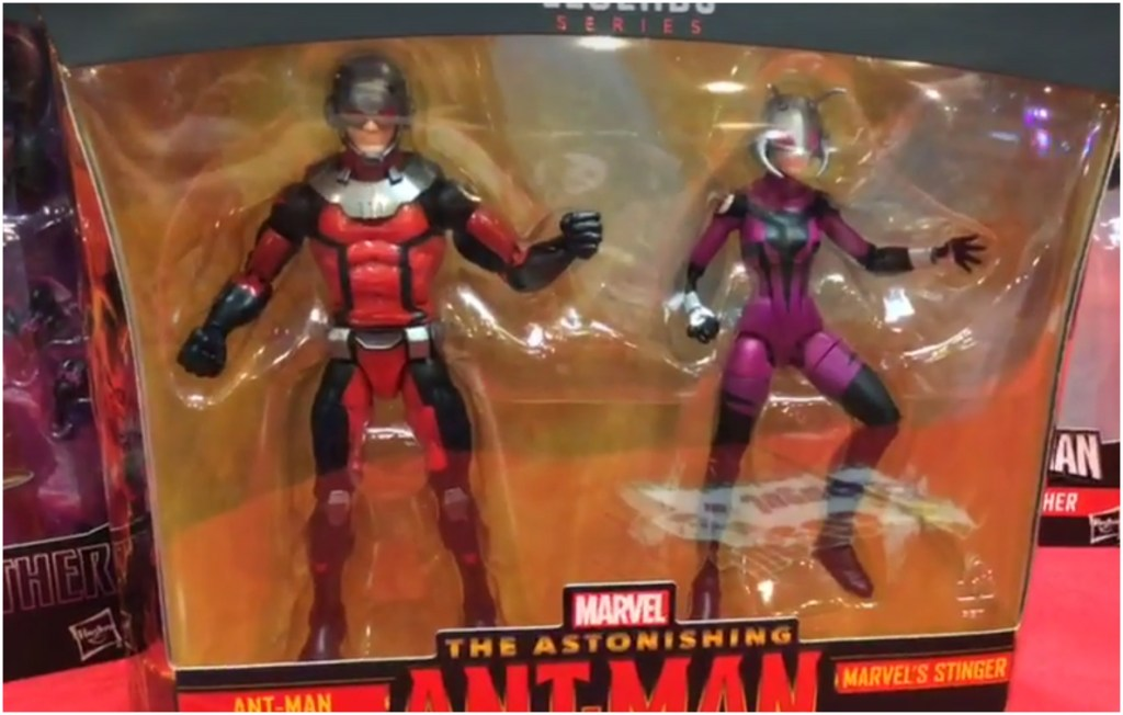 Hasbro: Ant-Man and Stinger Two-Pack Shown at Mexico Comic Con