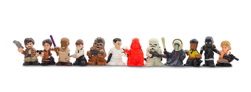 STAR WARS MICRO FORCE Blind Bags Assortment (Series 4 - Wave 3)