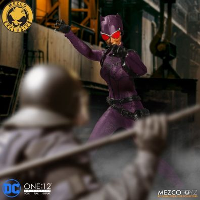 Mezco: One:12 DC Purple Suit Variant Catwoman Available for Preorder