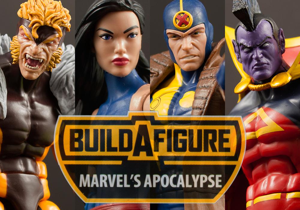 Marvel Legends Apocalypse Build-A-Figure Series Hasbro