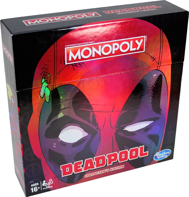 MONOPOLY GAME MARVEL DEADPOOL COLLECTOR'S EDITION - pkg (1)