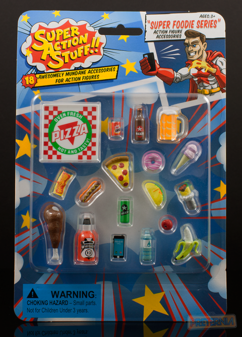 Super Action Stuff 'Super Foodie Series' 1:12 Scale Accessories Review