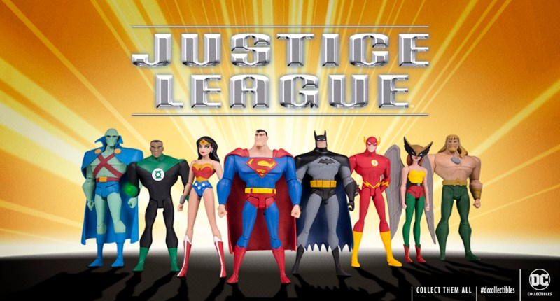 DC Collectibles: Justice League Animated Figures for DC Universe Digital Streaming Subscription Service