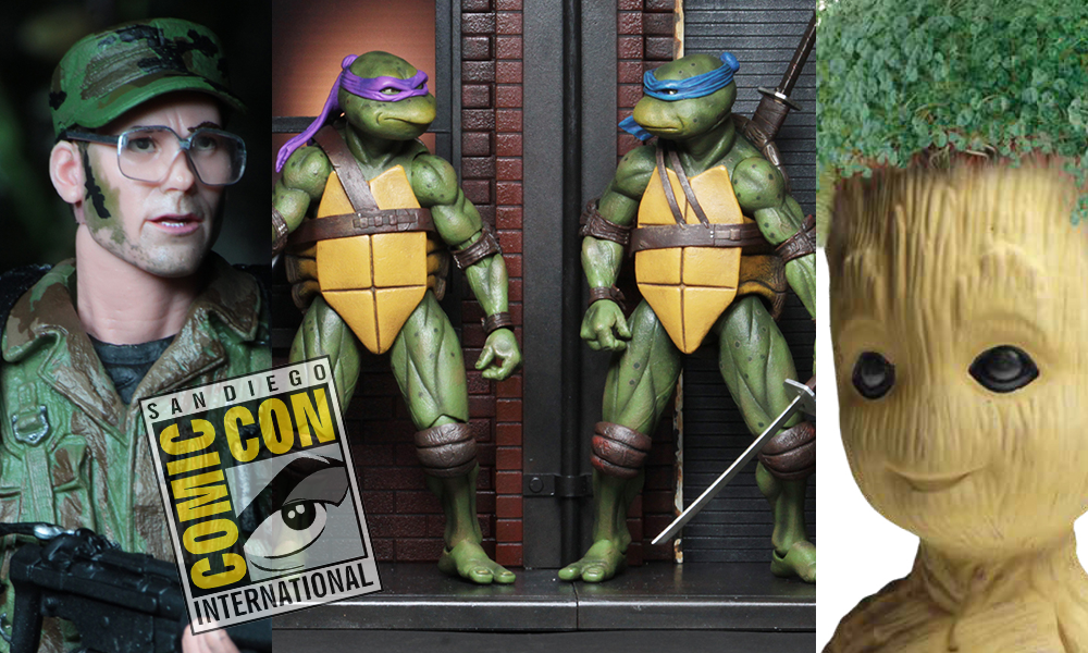 SDCC 2018: NECA Reveals Their Complete SDCC Exclusive Lineup