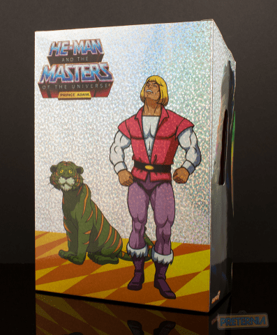 Super7 Masters of the Universe Classics Filmation Laughing Prince Adam Review