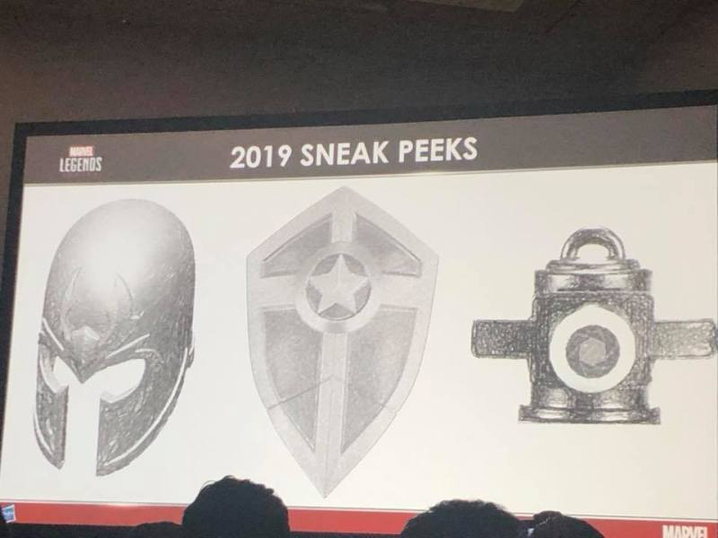 SDCC 2018 Hasbro Marvel Legends Slides Sneak Peeks