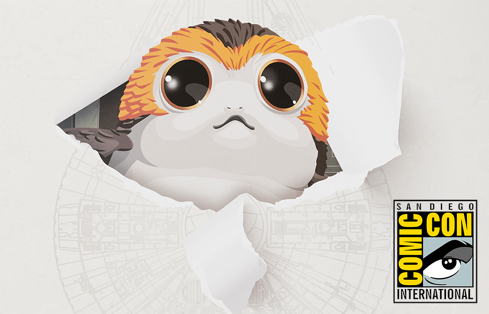 SDCC 2018: Hasbro Star Wars Forces of Destiny Chewbacca and Porgs Revealed