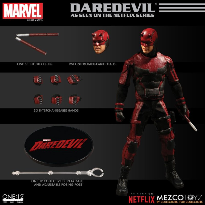 Mezco: One:12 Marvel Netflix Daredevil Available for Preorder