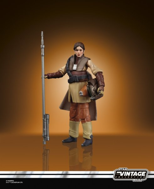 Hasbro: Star Wars Black Six-Inch Mudtrooper Han and Vintage Collection Boushh Leia Revealed
