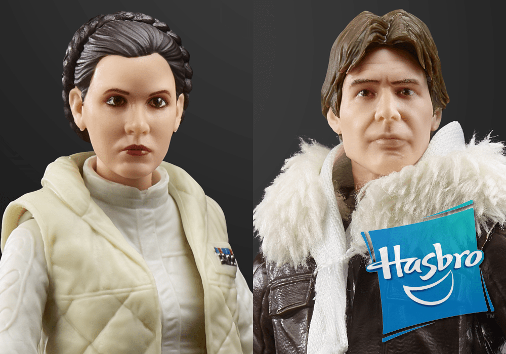 Hasbro: Star Wars Black International Hoth Han & Leia Exclusive Revealed