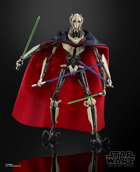 Star Wars The Black Series 6-inch General Grievous Figure 1