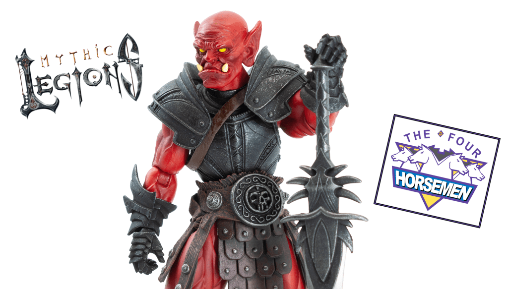 Quick Review: Four Horsemen Mythic Legions: Soul Spiller Fury Clan Orc