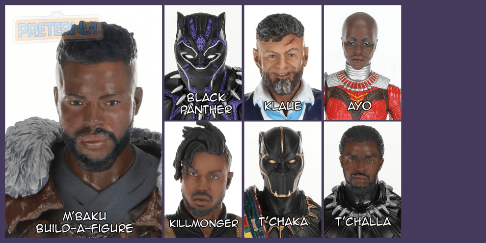 Marvel Legends Black Panther M'Baku Build-A-Figure Wave