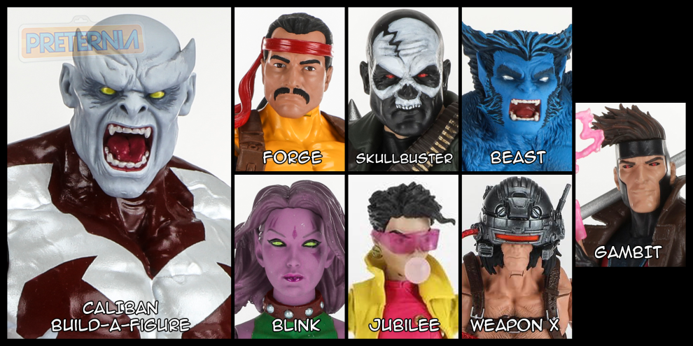 Marvel Legends X-Men Caliban Build-A-Figure Wave