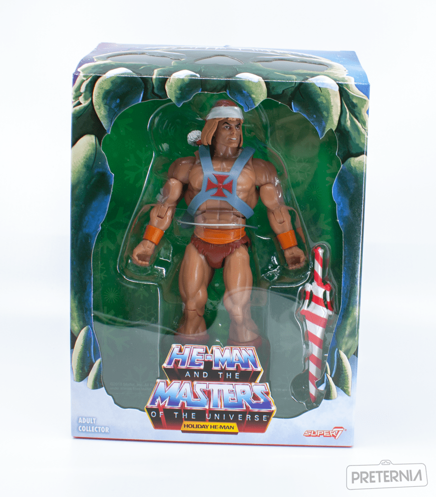 Super7 Masters of the Universe Classics Filmation Holiday He-Man Review