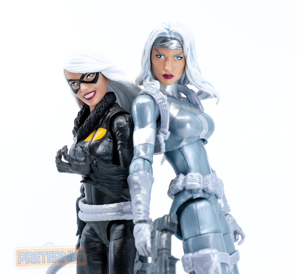 Marvel Legends Spider-Man Series Kingpin BAF Wave Silver Sable Review