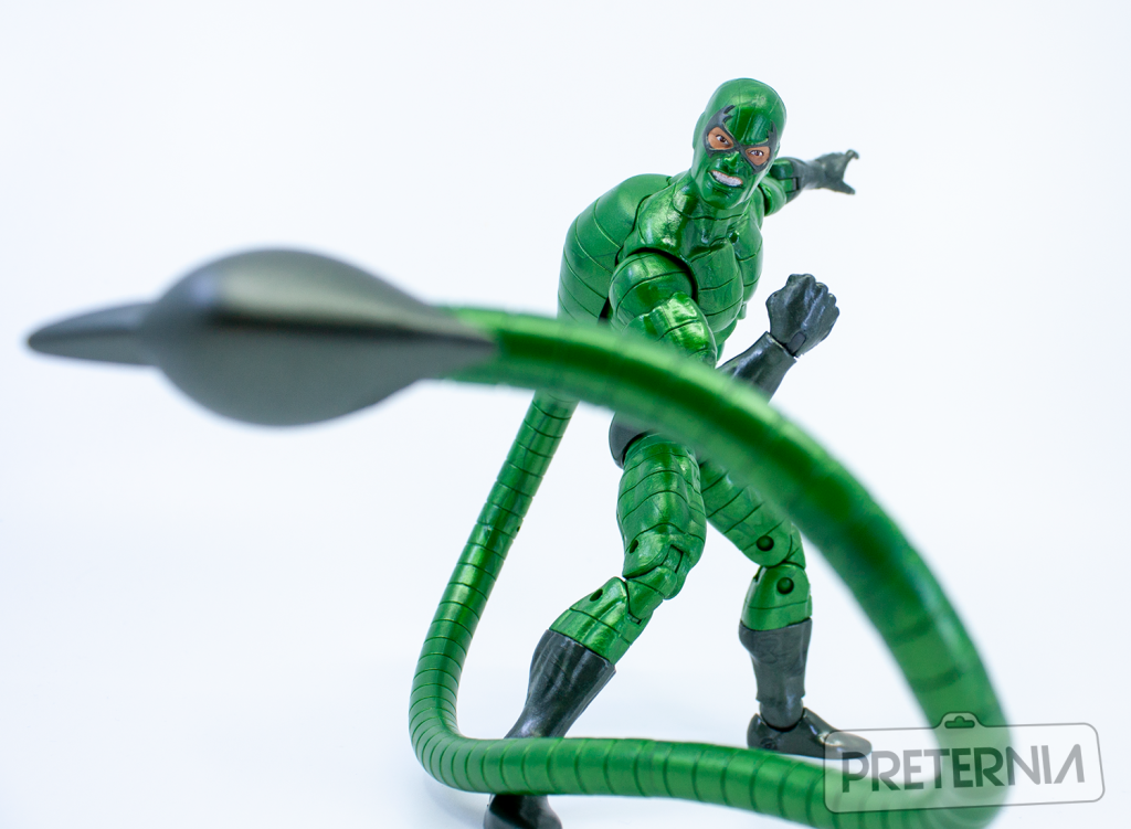 Marvel Legends Spider-Man Series Molten Man BAF Wave Scorpion Review