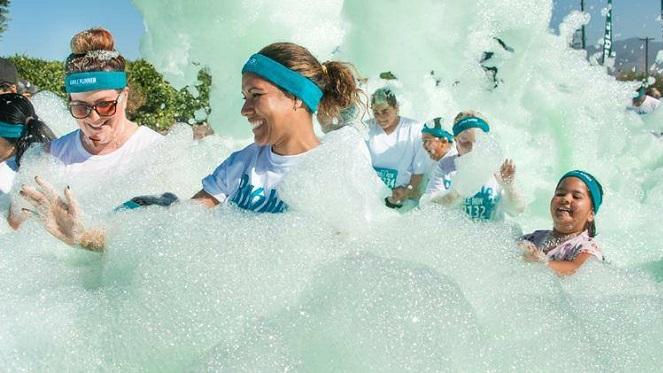 Foam run