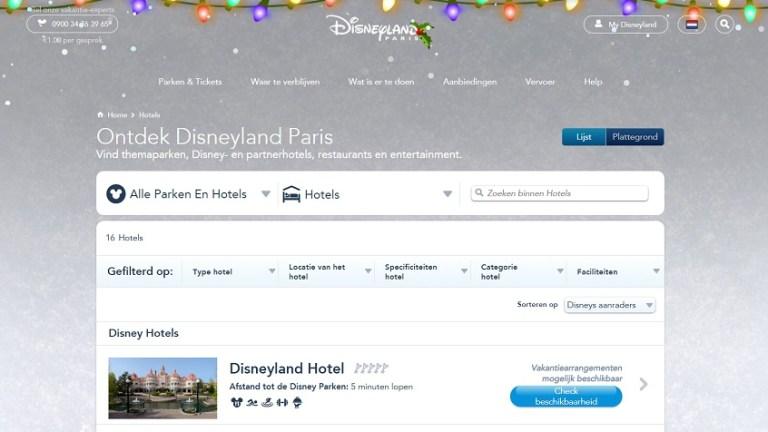 Disneyland Parijs hotel
