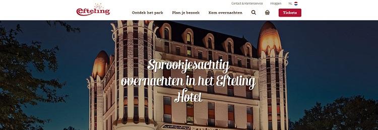 Het hotel van de Efteling