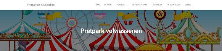 Pretpark voor volwassenen