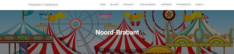 Pretparken Noord-Brabant