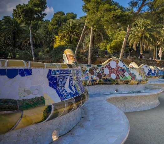 Exploring Gaudi's Work In Barcelona - Park Guell