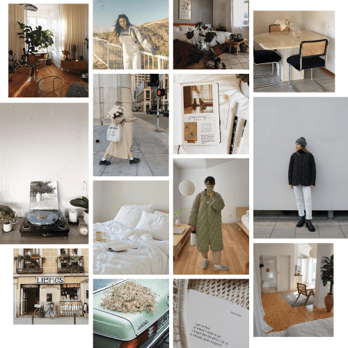 Moodboard 08 : Mes inspirations hivernales