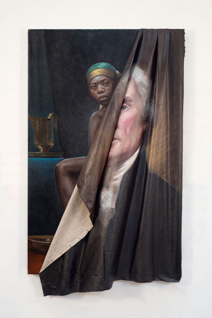 Behind the Myth of Benevolence, Titus Kaphar