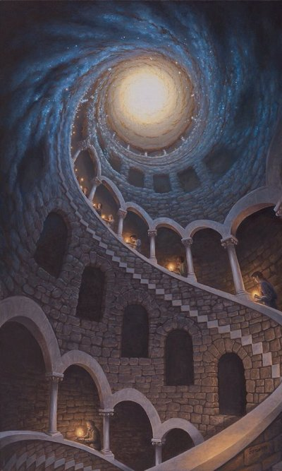 """Star Dust"" by Rob Gonsalves"