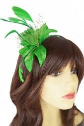 Green Fascinators Green Hair Fascinators Amp Hats For Weddings