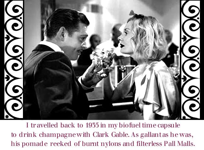 Clark Gable and Magdalena of Pretty Cripple.com