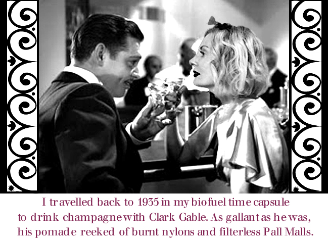 Clark Gable and Magdalena of Pretty Cripple.com