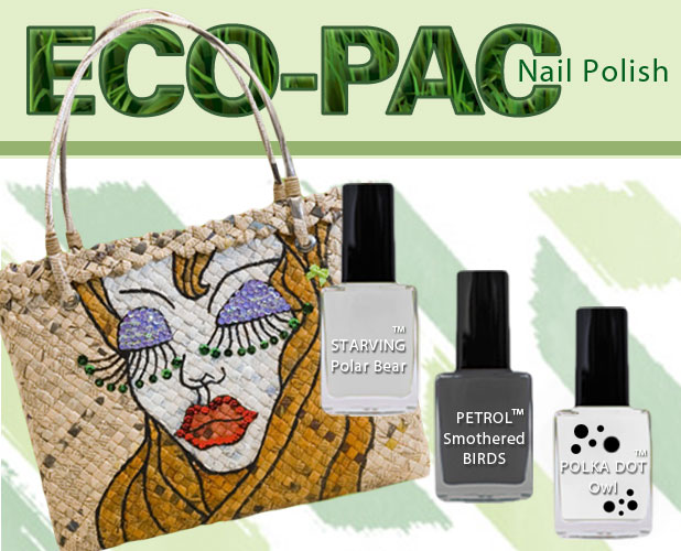 Eco-Friendly nail polish for GREEN people