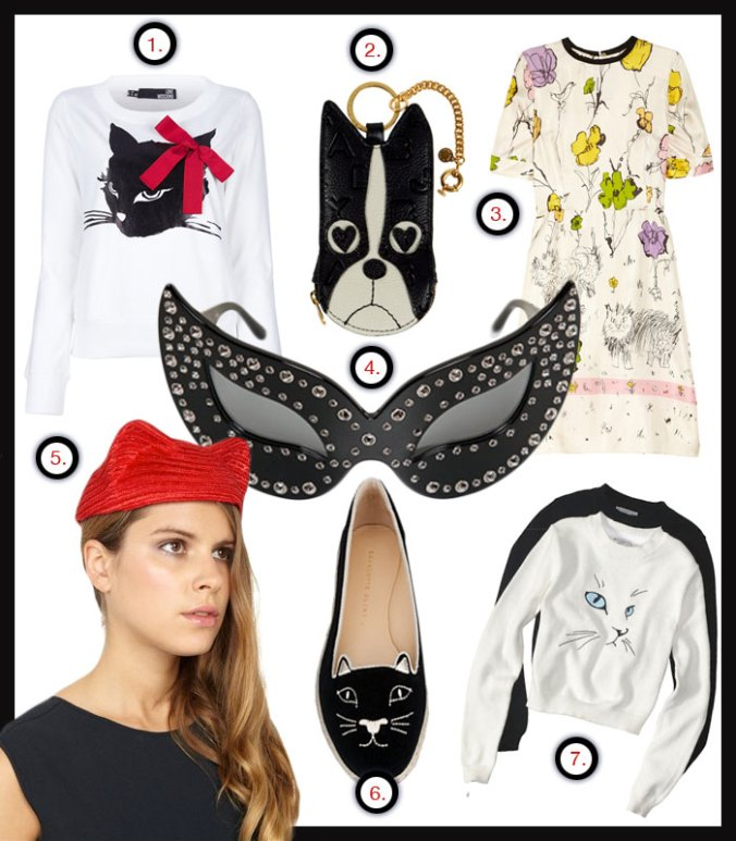 Cat fashion - Cat motifs in Fashion