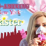 EGGS-AMINING New York City on Easter
