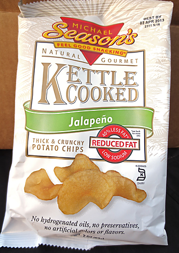 Michael's reduced fat Kettle Jalapeno Chips
