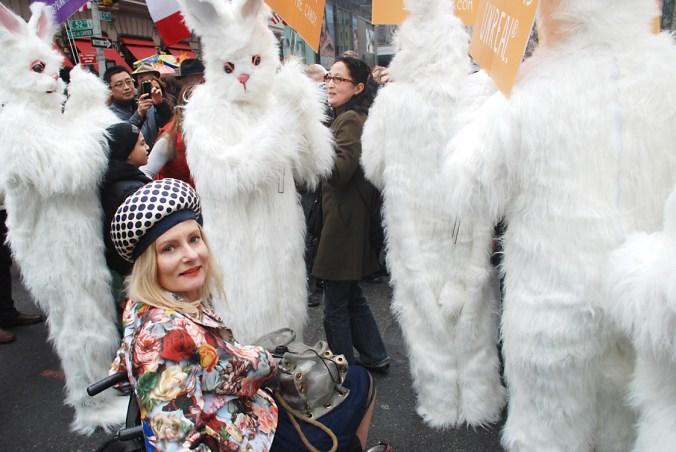 Magda and creepy bunnies