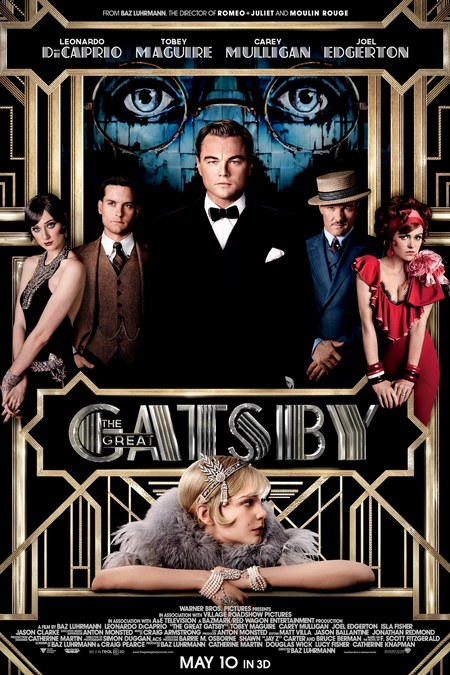 Baz Luhrmann's Great Gatsby movie poster