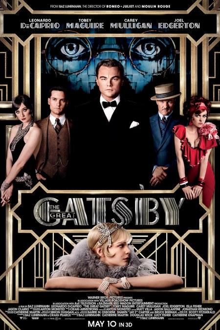 Baz Luhrmann's Great Gatsby movie poster