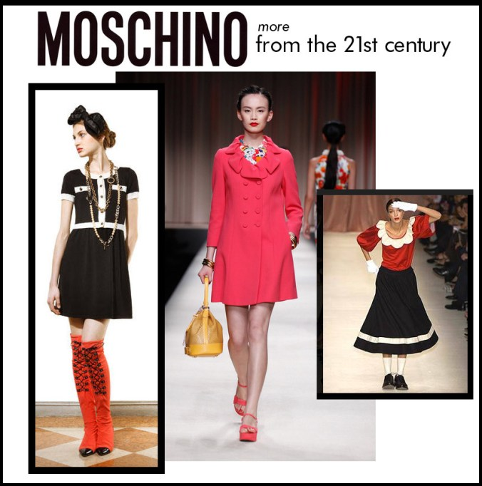 more Moschino in teh 21st century