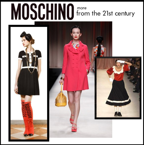 more Moschino in teh 21st century